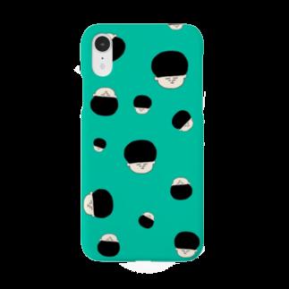 おかっぱくんショップのおかはランダムスマホケース Smartphone cases