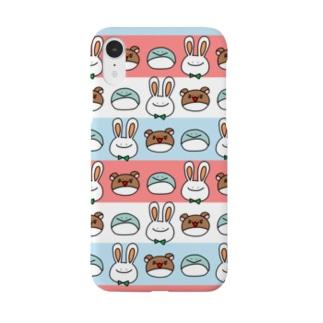 ぺうさーず① Smartphone cases