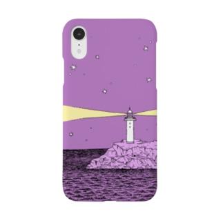 深夜の灯台 Smartphone cases