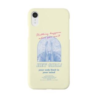 cee4    レモンイエロー/90s/ガーリー Smartphone cases