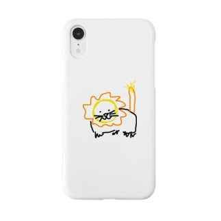 モモオンくん(iPhoneXR) Smartphone cases