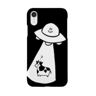 キャトられる牛 Smartphone cases