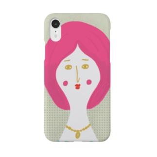 7月の女 Smartphone cases