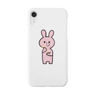 静電気うさぎ Smartphone cases
