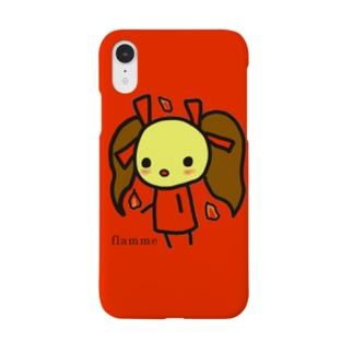 Ahhoのぽよ子flamme Smartphone cases