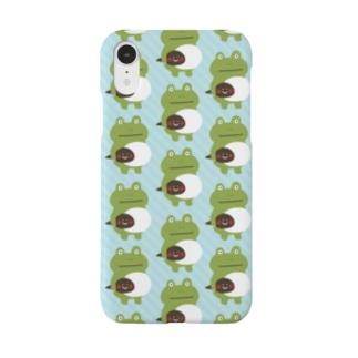 カエルとおたま Smartphone cases