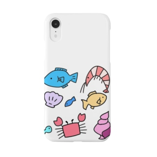 うみのさち Smartphone cases