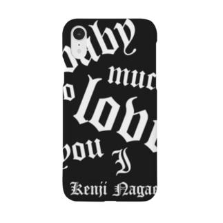 BLACK 2020長江健次オリジナル Smartphone cases