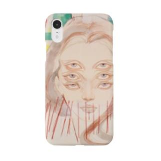 神様ドローイング ONE Smartphone cases
