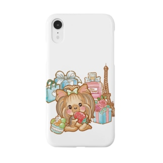 パリジェンヌヨーキーちゃん Smartphone cases