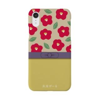 浪漫がーる はいからさんけーす 黄×紫帯 Smartphone cases