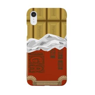 キャラメルチョコiPhoneケース Smartphone cases