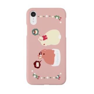 ケーキさんごきげんよう Smartphone cases