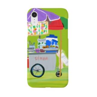 唐揚げ屋台 ガイトート タイ屋台 Smartphone cases