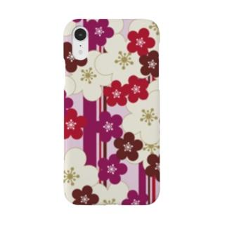 紅梅縞 Smartphone cases