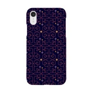 アイヌ紋様 Smartphone cases