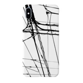 電線6 Smartphone cases