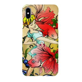 スマホケース(金魚) Smartphone cases