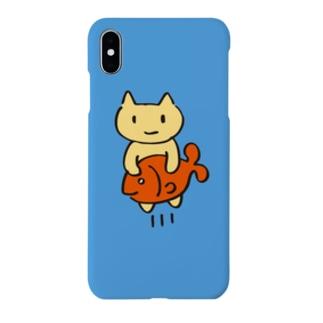 ねこのシュッ! Smartphone cases