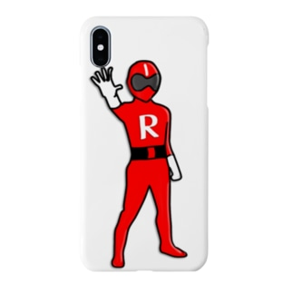 某スタンプじゃ審査通らなかったレンジャー レッド Smartphone cases