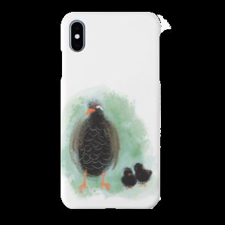 akane_artのヤンバルクイナの親子 Smartphone cases