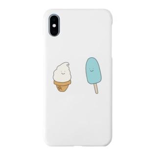 アイスクリーム&バー Smartphone cases
