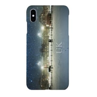 星降る夜  - UKロゴあり- Smartphone cases