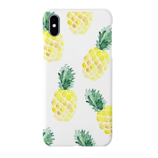 パイナポー Smartphone cases