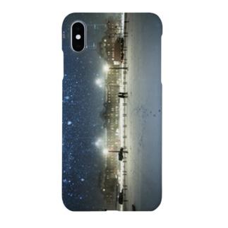 星降る夜 -ロゴなし- Smartphone cases