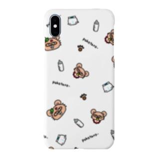 ぽこたろーwhite Smartphone cases