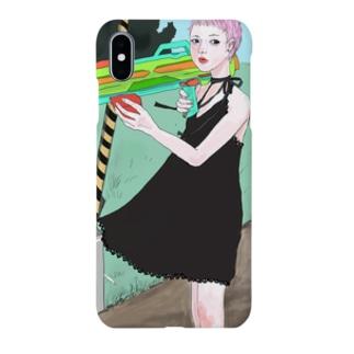 水鉄砲ガール Smartphone cases