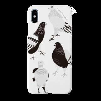megumiillustrationのhatotachi Smartphone cases