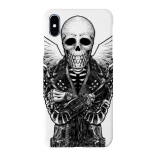 ドクロ・エンジェル Smartphone cases