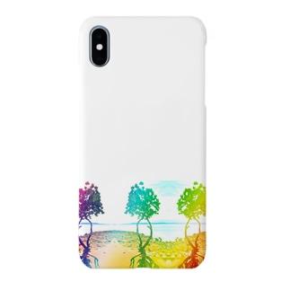 3つマングローブ Smartphone cases