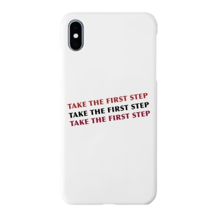 TAKE THE FIRST STEP Smartphone cases