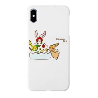 しろくまガールズ Smartphone cases