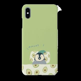 kaoruhiranoのavocado penguin Smartphone cases