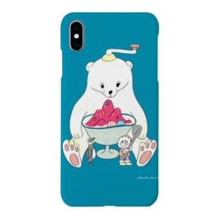 かき氷は美味しいね Smartphone cases