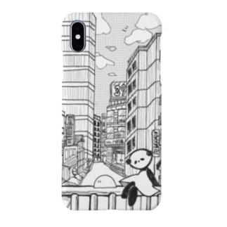 スミパンダと旅に出よう Smartphone cases