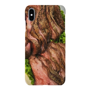 自家製ローストビーフ Smartphone cases