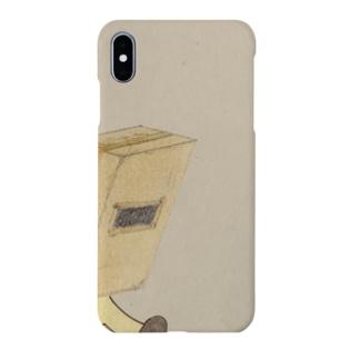 飛び出し箱男 Smartphone cases