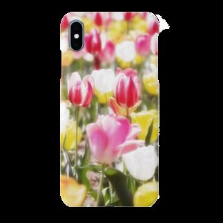 akane_artのチューリップ Smartphone cases