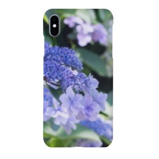 アジサイ(紫) Smartphone cases