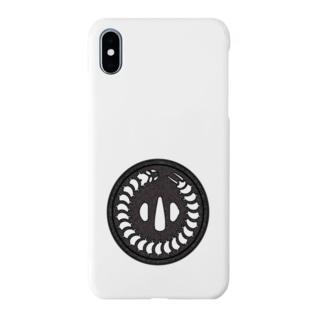 刀剣鍔 百足 Smartphone cases