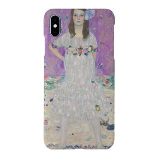グスタフ・クリムト Gustav Klimt Mäda Primavesi Smartphone cases