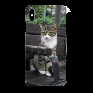 トロワ イラスト&写真館の野良ネコちゃん Smartphone cases