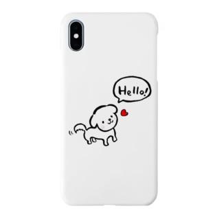 マルチーズ♡ Smartphone cases