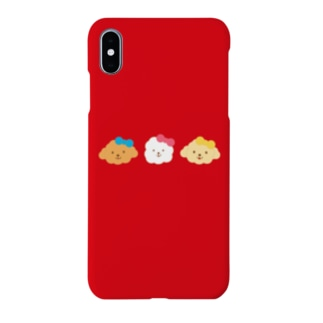 REDiphoneアイフォンケーストイプードルビションフリーゼ Smartphone cases