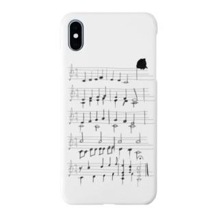 カエルの歌(手書き) Smartphone cases
