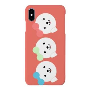 アイドルふうふう三姉妹!スマホケースピンク Smartphone cases
